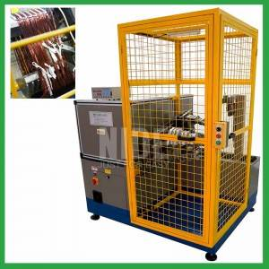 Big Power Motor Stator Coil Making machine for deep water pump motor coil winding
