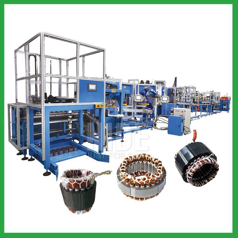 Motor stator automatic manufacturing production line Featured Image