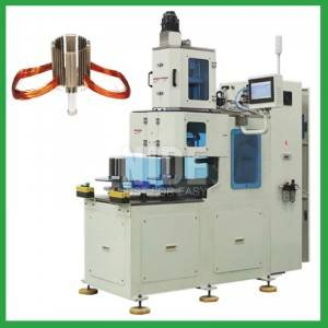 Automatic Compressor Stator Coil Winder Machine