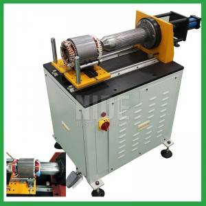 Electric motor Stator coil winding Insulation Wedge Expanding Machine