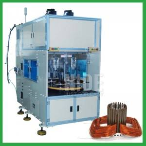 8 station 4 service automatic stator coil winding machine