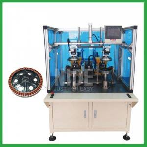 Full Automatic Double working Station Wheel Motor hub motor stator Winding Machine