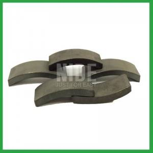 Magnets for automobile power seat motors
