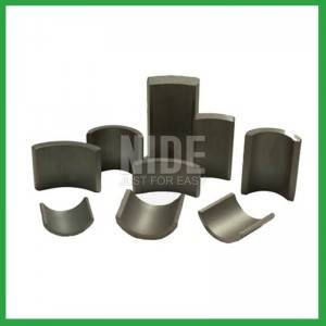 Magnets for automobile fuel pump motor