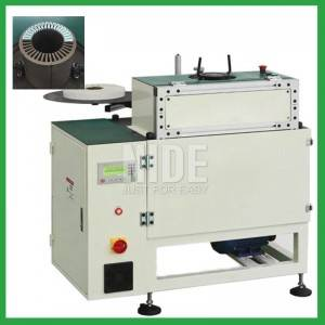 stator insulation paper folder and inserter equipment