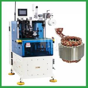 Automatic Stator Both Ends Coil Lacing Machine