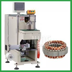 Semi-automatic Single Side Stator Wire Binding and knotting Machine