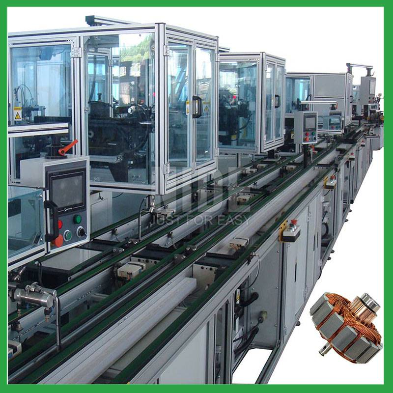Fully automatic Armature Rotor production assembly line Featured Image