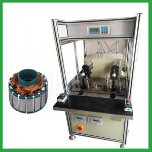 Single flyer BLDC winding machine outer Rotor coil winding machine