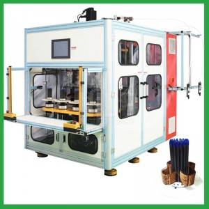 Full auto eight working station coil winding machine