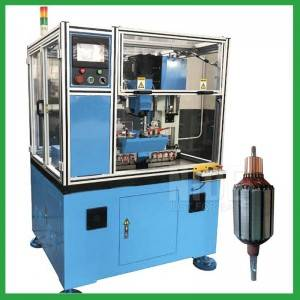 Three-axis servo control commutator Turning machine
