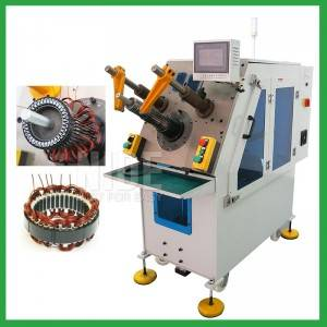 Automatic motor Stator winding inserting machine