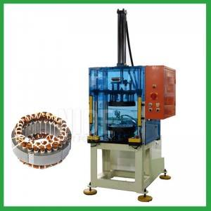 stator coil final shaping and forming machine