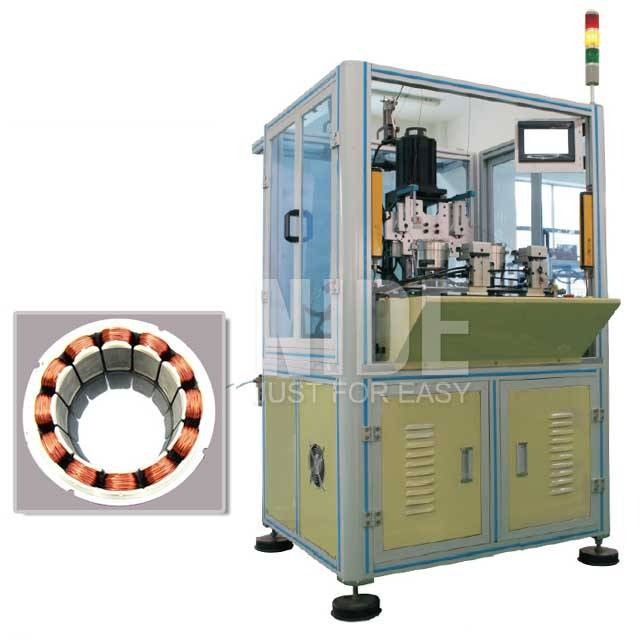 Factory Customized Winding Tie Twisting Binding Machine - Double stations BLDC Stator Needle Winding Machine – Nide Mechanical