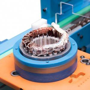 Motor stator automatic manufacturing production line