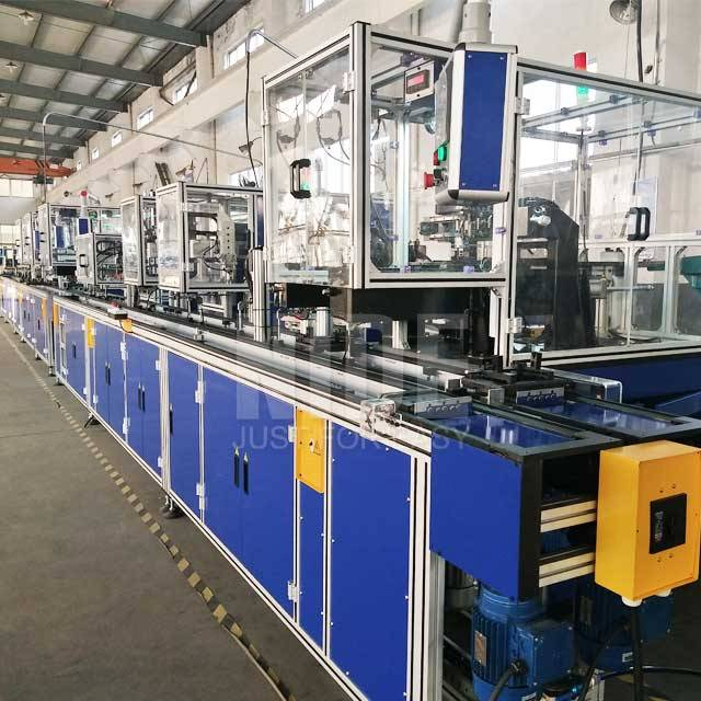 Cheap price Automatic Winding Machine - Fully automatic BLDC stator production assmebly line – Nide Mechanical Featured Image