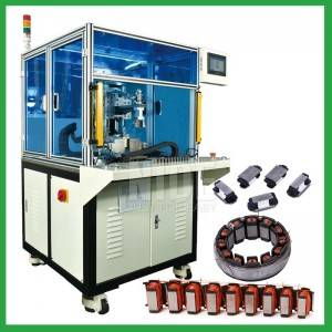 Automatic linear segment stator needle winding machine for open pole stator coil winding from China manufacturer