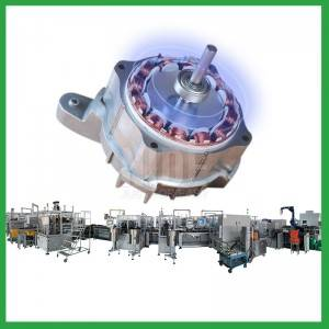 Automatic Washing Machine BLDC Motor Production Assembly Line