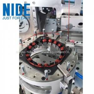 Factory Outlets  Automatic electric stepper Motor inslot Stator Needle Winding Machine-automatic coil winding machine supplier