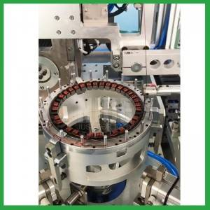 Automatic DD motor stator in slot winding machine-BLDC needle winding machine supplier