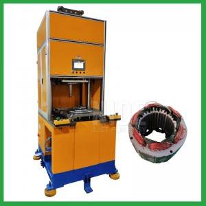 Automatic electric induction motor stator coil middle forming machine/wire winding shaping equipment for AC DC motor manufacturing production line