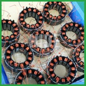 Automatic motor stator coil winding machine with needle winding technology