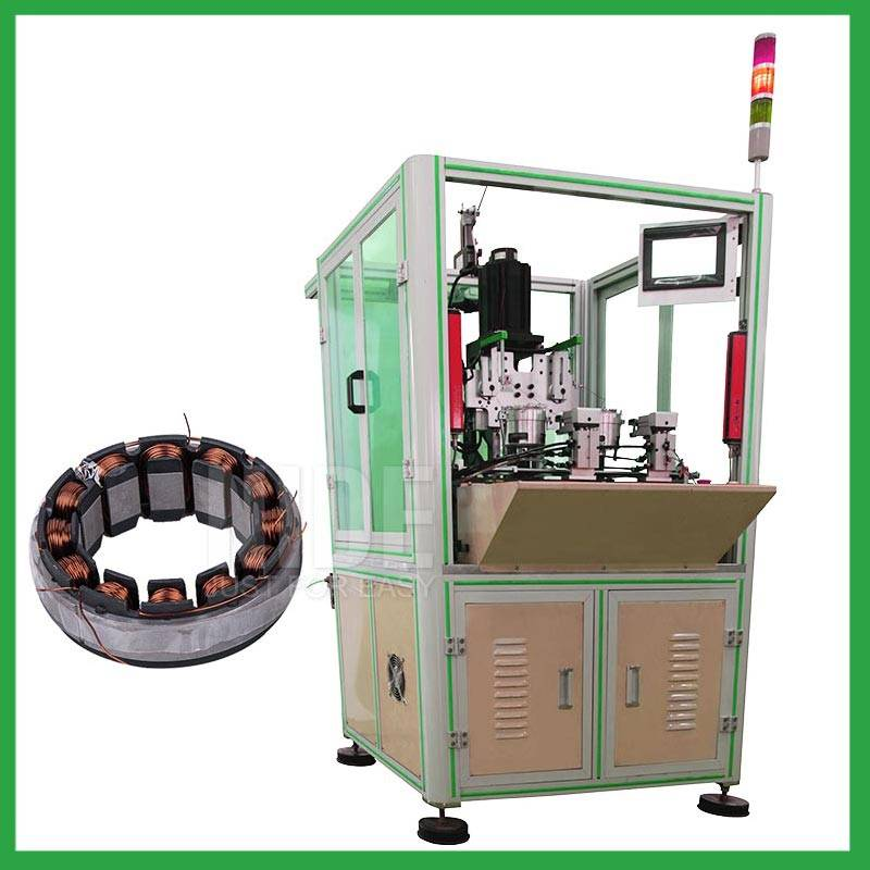 Automatic brushless DC motor stator winding machine-electric motor needle coil winder supplier Featured Image