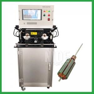 High efficiency automatic armature testing panel machine for electric DC and universal motor armature rotor