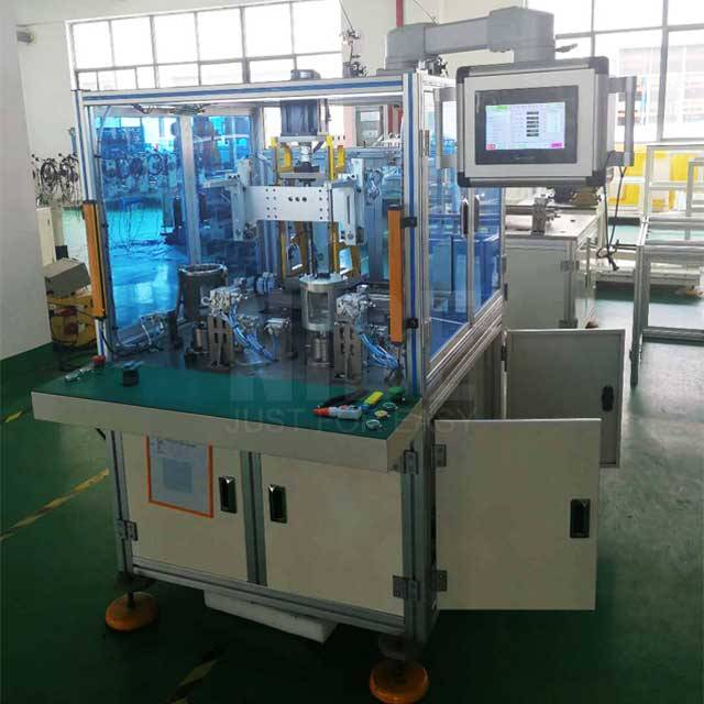 Best Price for Shaft Pressing Machine - Double stations BLDC  stator needle winding machine – Nide Mechanical detail pictures