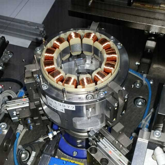 2018 wholesale price Nonwoven Fabric Making Machine - Double stations BLDC  stator needle winding machine – Nide Mechanical