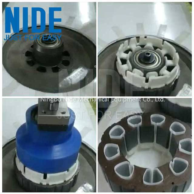 ODM Supplier Power Cable Packing Machine - BLDC stator Insulation Paper Inserting machine – Nide Mechanical