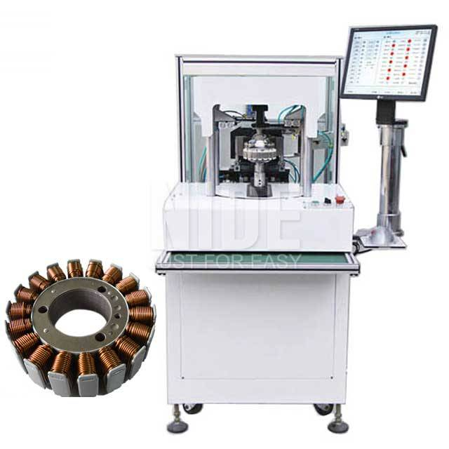 Rapid Delivery for Steel Ladle Manufacturer - Automatic Small size External armature stator coil winding machine – Nide Mechanical