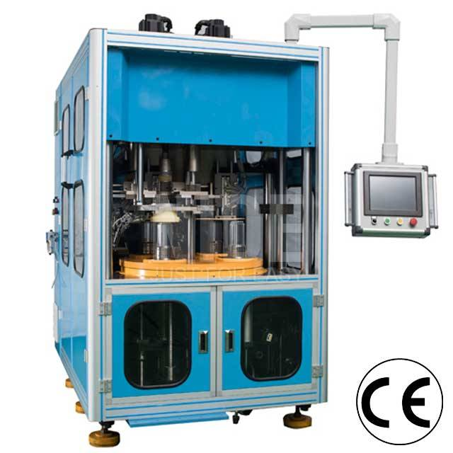 Discountable price Stator Lamination - Fully automatic three stations Stator wire winding and coil inserting machine – Nide Mechanical