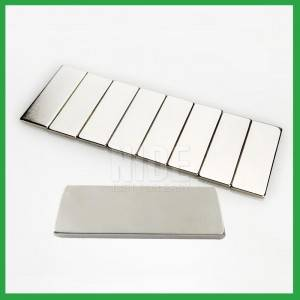 Electric motor parts Permanent N52 NdFeB magnet-Rectangle Square Neodymium Magnetic block