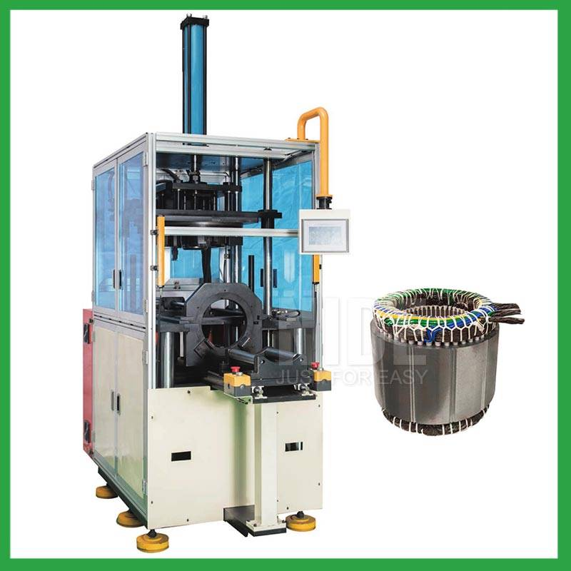 Automatic industry pump motor stator coil forming and shaping machine-electric motor manufacturing machine supplier Featured Image