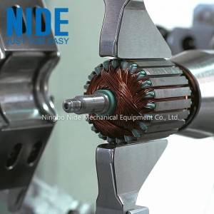 Armature rotor production assembly line