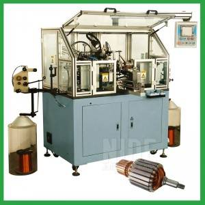 Automatic electric motor armature winding machine with double flyer winding-motor winding  machine manufacturers and suppliers