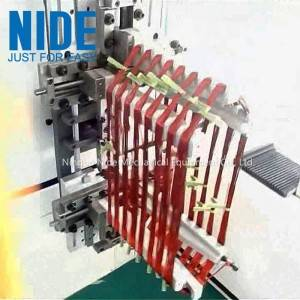 Big power medium submersible pump motor stator winding machine automatic coil winder