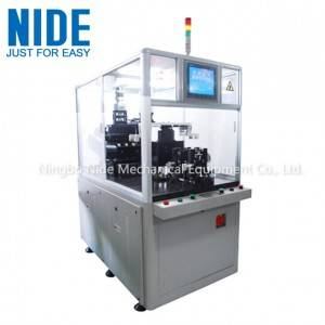 Automatic Rotor Balancing Machine With Two Working Station