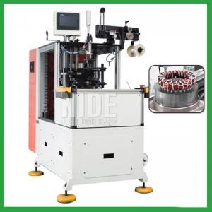 Induction motor Double end automatic stator coil lacing machine for sale in india