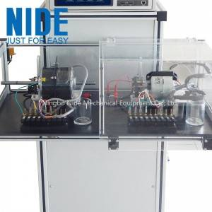 Automatic intelligent electric motor testing equipment for AC/ DC motor test and monitoring