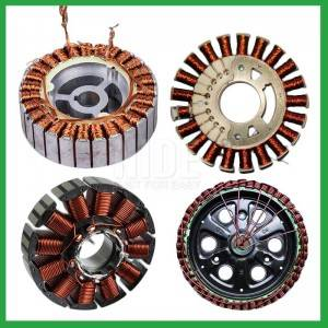Automatic BLDC Motor outslot stator external rotor winding production assembly line