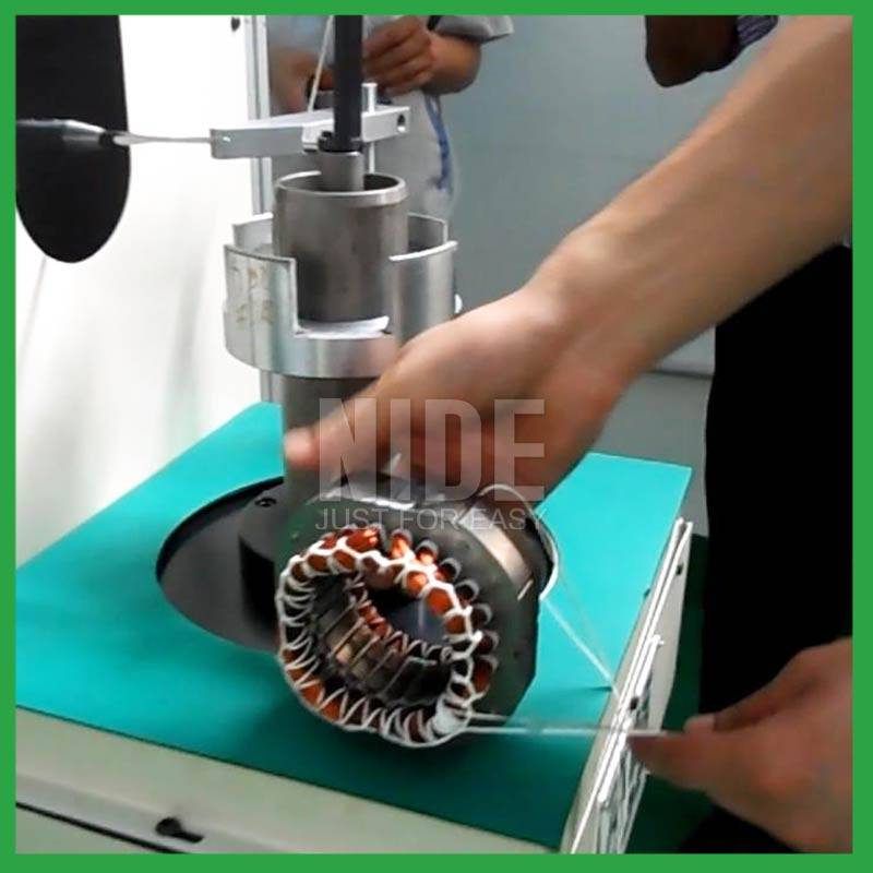 China supplier Economical Automatic 220V AC induction motor stator coil lacing and lashing machine for sale Featured Image