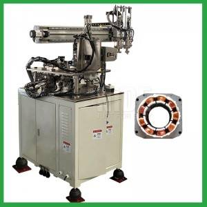 BLDC Sator coil Winding Machine with three Needle winding