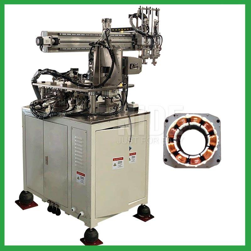 BLDC Sator coil Winding Machine with three Needle winding Featured Image