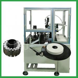 Automatic BLDC outer rotor slot paper folder and inserting machine-outslot stator insulation paper inserion manufacturer