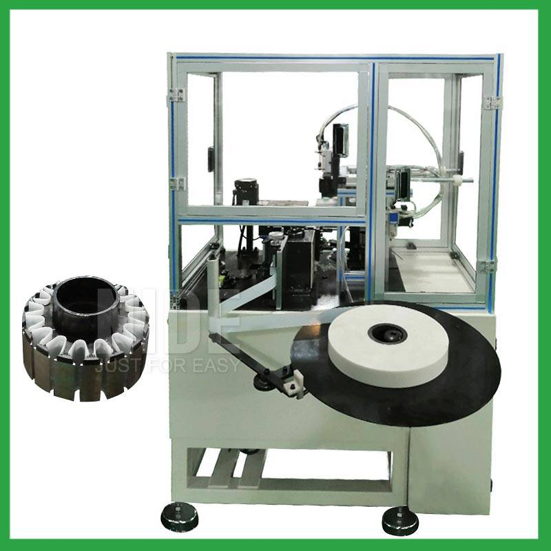 Automatic BLDC outer rotor slot paper folder and inserting machine-outslot stator insulation paper inserion manufacturer Featured Image