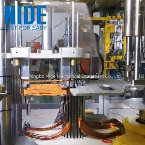 Full Automatic Generator motor stator coil winding and inserting machine for 3 phase electric motor manufacturing