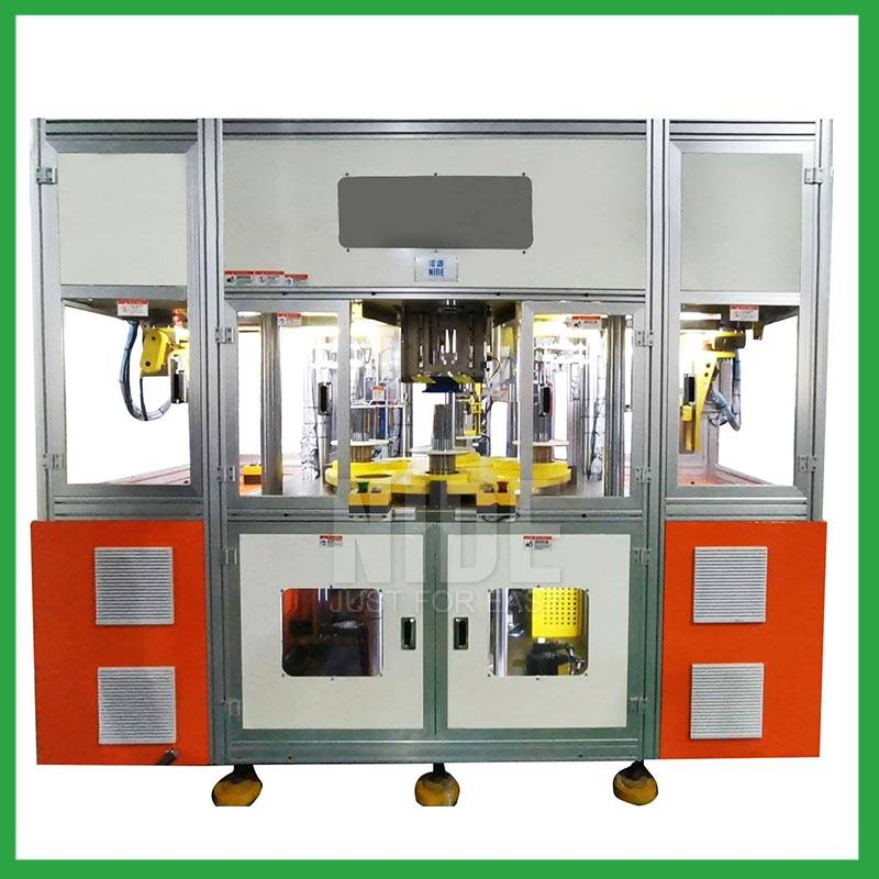 Full Automatic Generator motor stator coil winding and inserting machine for 3 phase electric motor manufacturing Featured Image
