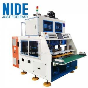 Automatic coil winding machine for induction motor stator coil winder